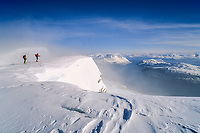 Summit of Uloya Island, Troms, Norway, 2005