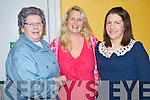 Pictured at the Beaufort Rambling house in the Community Hall on Saturday night were Eileen Cronin, Marie Kehoe O'Sullivan and Michelle Kissane.......