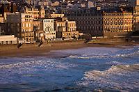 Europe/France/Aquitaine/64/Pyrénées-Atlantiques/Pays Basque/ Biarritz: Architecture  du Front  de mer.