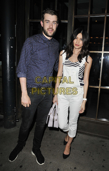 LONDON, ENGLAND - JULY 17: Jack Whitehall &amp; Gemma Chan attend the Warner Music Group &amp; GQ 2014 summer party, Shoreditch House, Ebor St., on Thursday July 17, 2014 in London, England, UK.<br /> CAP/CAN<br /> &copy;Can Nguyen/Capital Pictures
