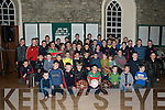 Hurlers of the Future: Crotta O'Neills U/10 & U/12 who won the U19 A Blitz at Ardfert, U12 County League Div. 2 and the North Kerry Blitz held in Ballyduff, being presented with their medals at a function at St Colombabas Centre in Kilflynn on Saturday evening. Medals were presented by maurice Leahy & John Griffin.