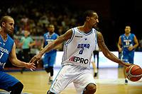 GRONINGEN - Basketbal, Donar - Fribourg, tweede voorronde Champions League, seizoen 2018-2019, 25-09-2018,  Donar speler Jason Dourisseau
