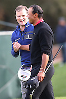 12/08/13 Thousand Oaks, CA: Zach Johnson defeats Tiger Woods in a one hole playoff  to win the 2013 Northwestern Mutual World Challenge played at Sherwood Country Club. The yearly event benefits the Tiger Woods Foundation.