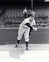 New York Yankees Red Ruffing pre-game warming up portrait from the 1930's.  Red Ruffing played for 22 years with 3 different teams, was a 6-time All-Star and was elected to the Baseball Hall of Fame in 1967.
