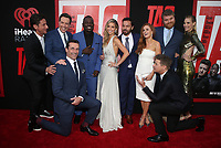 WESTWOOD, CA - JUNE 7: Jeff Tomsic, Ed Helms, Hannibal Buress, Jon Hamm, Annabelle Wallis, Jake Johnson, Isla Fisher, Leslie Bibb, Jeremy Renner, at the World premiere of Tag at the Regency Village Theatre in Westwood, California on June 7, 2018. <br /> CAP/MPIFS<br /> &copy;MPIFS/Capital Pictures