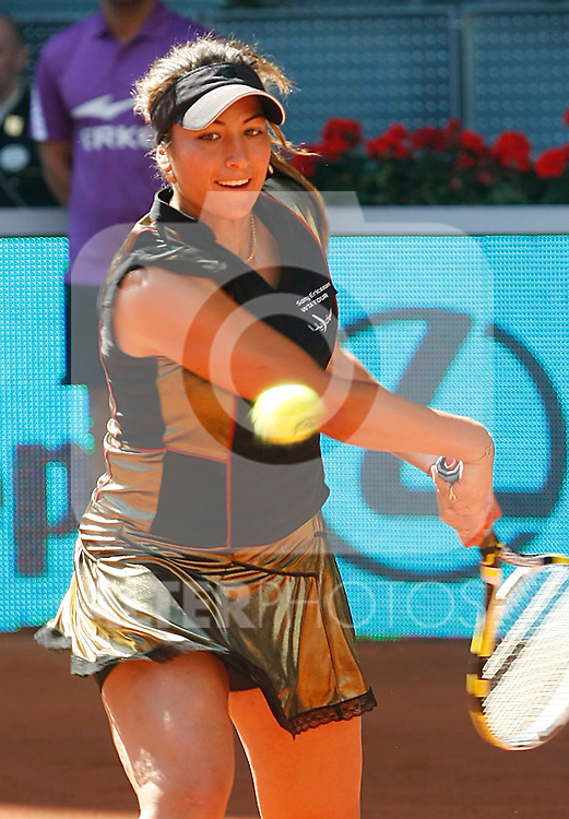 Aravane Rezai during Tennis Madrid Open match, May 15,2010..(Alfaqui/Alberto Simon)