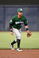 Daytona Tortugas shortstop Alex Blandino (5) during a game against the Tampa Yankees on April 24, 2015 at George M. Steinbrenner Field in Tampa, Florida.  Tampa defeated Daytona 12-7.  (Mike Janes/Four Seam Images)