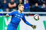 Solna 2015-04-26 Fotboll Allsvenskan AIK - &Ouml;rebro SK :  <br /> &Ouml;rebros m&aring;lvakt Oscar Jansson i aktion under matchen mellan AIK och &Ouml;rebro SK <br /> (Foto: Kenta J&ouml;nsson) Nyckelord:  AIK Gnaget Friends Arena Allsvenskan &Ouml;rebro &Ouml;SK