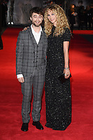 "Juno Temple and Daniel Radcliffe arrives for the ""Horns"" premiere at the Odeon West End, London. 20/10/2014 Picture by: Steve Vas / Featureflash"