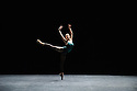 London, UK. 09.03.2015. English National Ballet presents an evening of three Modern Masters, at Sadler's Wells. This piece is IN THE MIDDLE, SOMEWHAT ELEVATED, by William Forsythe. The dancers are: Alina Cojocaru, Alejandro Virelles, Begona Cao, Laurretta Summerscales, Junor Souza, Crystal Costa, Barry Drummond, Kei Akahoshi, Alison McWhinney. Photograph © Jane Hobson.