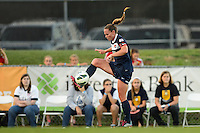 Sky Blue FC defender Christie Rampone (3). Sky Blue FC defeated the Washington Spirit 1-0 during a National Women's Soccer League (NWSL) match at Yurcak Field in Piscataway, NJ, on August 3, 2013.
