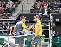 14-02-13, Tennis, Rotterdam, ABNAMROWTT, Matthias Bachinger - Jarkko Nieminen