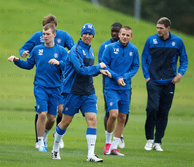 Kenny Miller with his KM hat