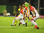 Alianza Petrolera igualó 0-0 ante Independiente Santa Fe. Fecha 3 Liga Águila I-2019.