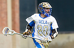 Los Angeles, CA 02/15/14 - Kevin Rowen (UCLA #20) in action during the Washington versus UCLA  game as part of the 2014 Pac-12 Shootout at UCLA.  UCLA defeated Washington 13-7.