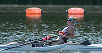 Caversham, Reading, . United Kingdom. ASW 1X. Rachal MORRIS.    GBRowingteam, Paralympic  Team  For 2016 Rio Games.   Tuesday,  19/07/2016,         [Mandatory Credit Peter Spurrier/