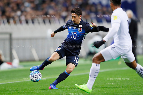 Shinji Kagawa (JPN), <br /> MARCH 28, 2017 - Football / Soccer : <br /> FIFA World Cup Russia 2018 Asian Qualifier <br /> Final Round Group B <br /> between Japan 4-0 Thailand <br /> at Saitama Stadium 2002, Saitama, Japan. <br /> (Photo by Yohei Osada/AFLO)