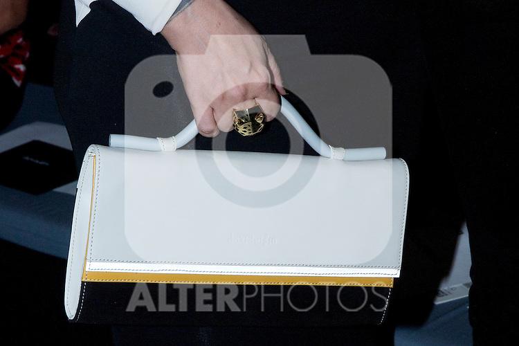 01.09.2012. Celebrities attending the David Delfin fashion show during the Mercedes-Benz Fashion Week Madrid Spring/Summer 2013 at Ifema. In the image Alaska (Alterphotos/Marta Gonzalez)
