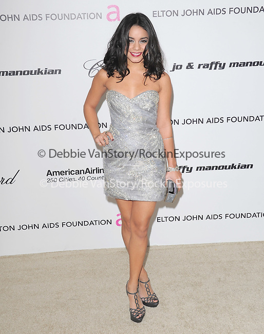 Vanessa Hudgens at the 19th Annual Elton John AIDS Foundation Academy Awards Viewing Party held at The Pacific Design Center Outdoor Plaza in West Hollywood, California on August 27,2011                                                                               © 2011 DVS / Hollywood Press Agency
