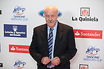 Coach Vicente del Bosque attends the 2015 As Sports Awards ceremony in Madrid, Spain. December 14, 2015. (ALTERPHOTOS/Victor Blanco)