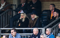 Owen Oyston owner of Blackpool in the stands during the Sky Bet League 2 match between Wycombe Wanderers and Blackpool at Adams Park, High Wycombe, England on the 11th March 2017. Photo by Liam McAvoy.