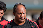 Papakura coach Hardy McLean. Counties Manukau Premier Club Rugby Game of the Week between Drury & Papakura, played at Drury Domain on Saturday Aprill 11th, 2009..Drury won 35 - 3 after leading 15 - 5 at halftime.