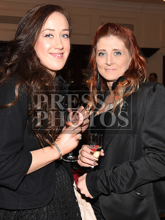 Barbara Clarke and Olivia McManus pictured at the Ardee Traders annual awards night in the Nuremore Hotel. Photo:Colin Bell/pressphotos.ie