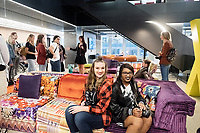 Fall Break trip to New York City: graphic design and fine art students from the Department of Art.  Tour of the Manhattan offices of Gensler, an international design firm.<br />  (photo by Megan Bean / &copy; Mississippi State University)