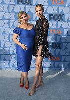 07 August 2019 - Los Angeles, California - Amanda Fuller, Molly McCook. FOX Summer TCA 2019 All-Star Party held at Fox Studios. <br /> CAP/ADM/BT<br /> ©BT/ADM/Capital Pictures