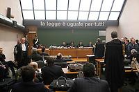 Processo  contro la presunta compravendita dei senatori