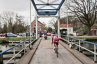 crossing the canal<br /> <br /> 105th Scheldeprijs 2017 (1.HC)<br /> 1 Day Race: Mol &rsaquo; Schoten (BEL/202km)