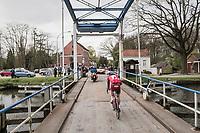 crossing the canal<br /> <br /> 105th Scheldeprijs 2017 (1.HC)<br /> 1 Day Race: Mol › Schoten (BEL/202km)