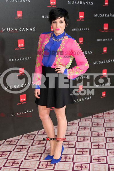 "Angy attend the Premiere of the movie ""Musaranas"" in Madrid, Spain. December 17, 2014. (ALTERPHOTOS/Carlos Dafonte) /NortePhoto /NortePhoto.com"