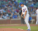 Tsuyoshi Wada (Cubs),<br /> JULY 28, 2014 - MLB : Chicago Cubs starting pitcher Tsuyoshi Wada during the first inning of the Major League Baseball game against the Colorado Rockies at Wrigley Field in Chicago, USA.<br /> (Photo by AFLO)