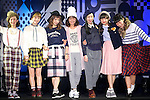 "Models, September 28, 2014, Tokyo, Japan : Models wearing fashion brand ""mer"" pose for the cameras during the ""Moshi Moshi Nippon Festival 2014"" on September 28, 2014 in Tokyo, Japan. Several famous Idols such as Dempagumi idol group, Kyary Pamyu Pamyu and Harayuku models attend the Moshi Moshi Nippon Festival 2014 to promotes the Japanese pop culture (fashion, anime, music and food) to non-Japanese people. (Photo by Rodrigo Reyes Marin/AFLO)"