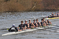 19 IM1.8+ Eton Coll..Reading University Boat Club Head of the River 2012. Eights only. 4.6Km downstream on the Thames form Dreadnaught Reach and Pipers Island, Reading. Saturday 25 February 2012.