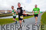Paul Sheehan, Aiden Sheridan and Tom Scanlon runners at the Kerry's Eye Tralee, Tralee International Marathon and Half Marathon on Saturday.