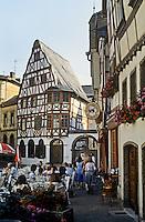 Limberg: Cafe in Marktplatz. Photo '87.
