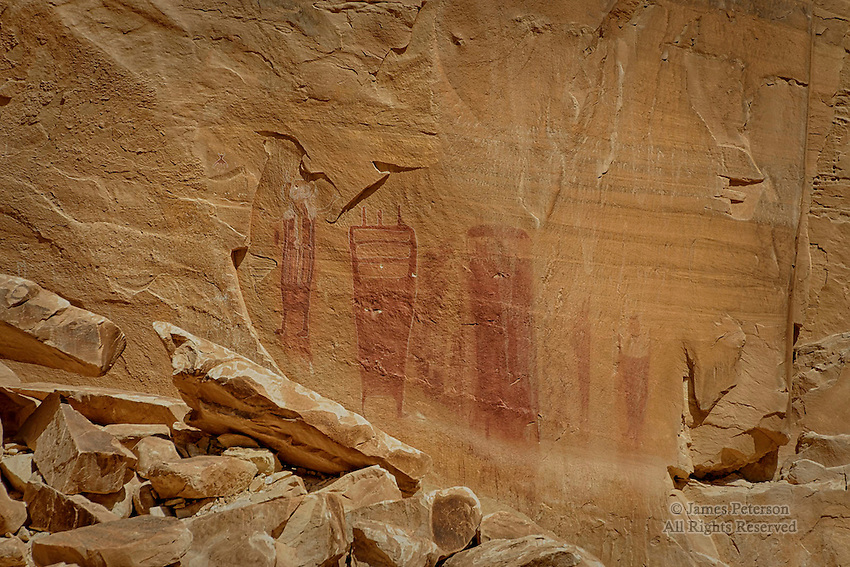 Petroglyphs, Black Dragon Canyon, Utah
