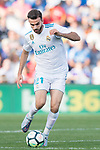 Borja Mayoral Moya of Real Madrid in action during the La Liga 2017-18 match between Getafe CF and Real Madrid at Coliseum Alfonso Perez on 14 October 2017 in Getafe, Spain. Photo by Diego Gonzalez / Power Sport Images