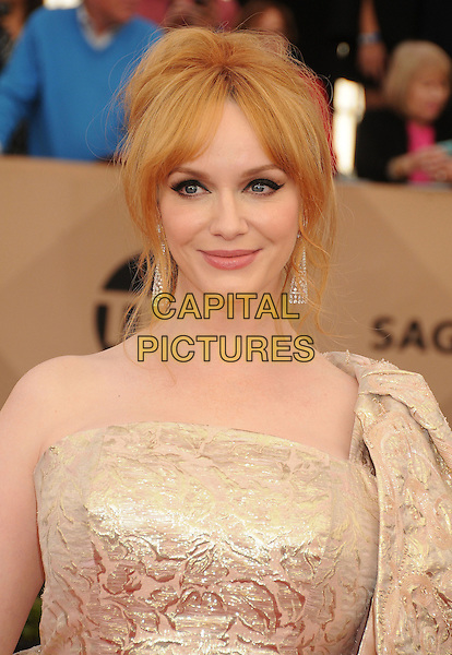 30 January 2016 - Los Angeles, California - Christina Hendricks. 22nd Annual Screen Actors Guild Awards held at The Shrine Auditorium.      <br /> CAP/ADM/BP<br /> &copy;BP/ADM/Capital Pictures