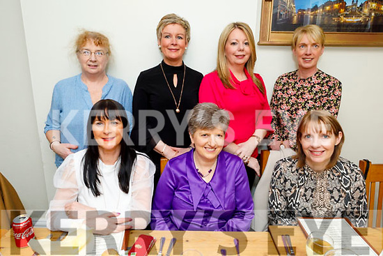 Enjoying the evening in Bella Bia on Saturday<br /> Front l to r: Ruth O'Connor, Josie Dalton and Bernadette O'Sullivan.<br /> Back l to r: Rena Glavin, Helen O'Riordan, Noreen Flaherty and Joanne Devane.