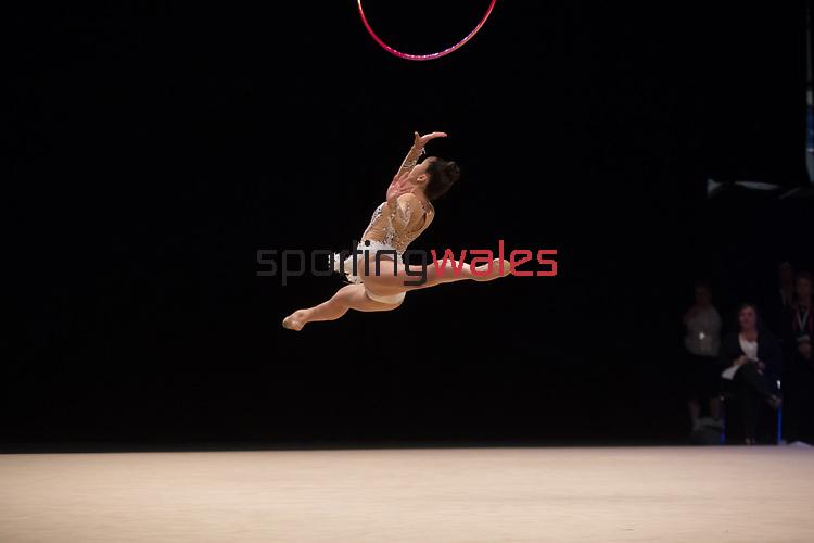 British Gymnastics Championships 2017<br /> Lavinia Bailey<br /> Liverpool Echo Arena<br /> 30.07.17<br /> ©Steve Pope - Sportingwales