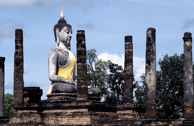 Wat Mahathat Sukhothai.