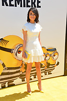 Miranda Cosgrove at the world premiere for &quot;Despicable Me 3&quot; at the Shrine Auditorium, Los Angeles, USA 24 June  2017<br /> Picture: Paul Smith/Featureflash/SilverHub 0208 004 5359 sales@silverhubmedia.com