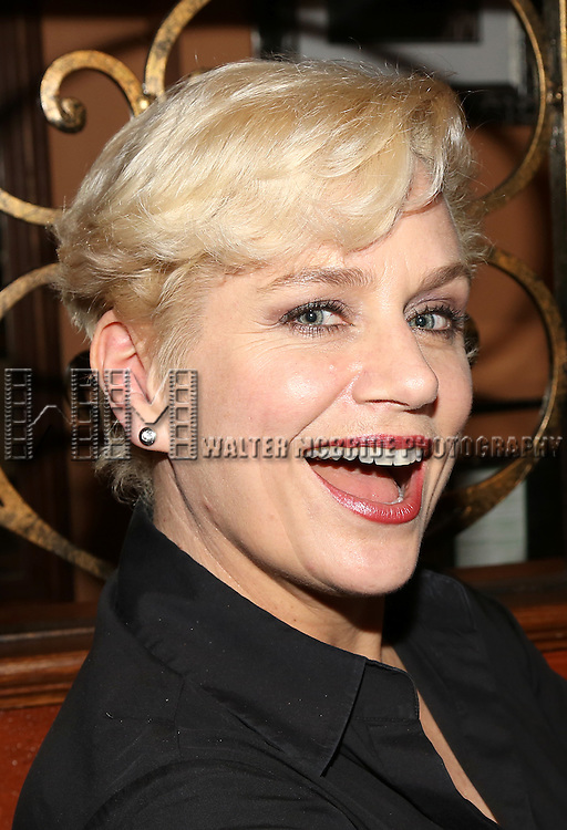 Cady Huffman performs at the 54 Below Press Preview at 54 Below on April 7, 2015 in New York City.