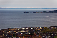 Pictured: The Brynmill and Sandfields areas of Swansea with Mumbles in the background. Wednesday 22 May 2019<br /> Re: General view of Swansea, Wales, UK