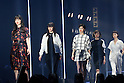 Nana Komatsu, Feb 28, 2015  2015 S/S : February 28, 2015 : Fashion Runway Show of TOKYO GIRLS COLLECTION by girlswalker.com 2015 SPRING/SUMMER at Yoyogi Gymnasium in Shibuya, Japan.