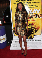 LOS ANGELES, CA - AUGUST 14: Joy Bryant arrives at the 'Hit &amp; Run' Los Angeles Premiere on August 14, 2012 in Los Angeles, California MPI21 / Mediapunchinc /NortePhoto.com<br />
