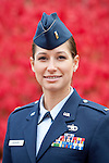 Bryant University senior Amy Newkirk, a second lieutenant in the Air Force, is seen Friday, Nov 11, 2011 on the Smithfield, R.I. campus. (Copyright 2011 Victoria Arocho, Rockarho Media Group, Inc.) *****IMAGE USAGE IS LICENSED TO BRYANT UNIVERSITY ONLY, IMAGES MAY NOT BE TRANSFERABLE TO A THIRD PARTY, METADATA MUST REMAIN A PART OF THE IMAGE AT ALL TIMES (REMOVAL OF THE METADATA FROM THE IMAGE IS A DIRECT VIOLATION OF FEDERAL COPYRIGHT LAW), IMAGES MAY NOT BE RESOLD, SALE OF REPRINTS IS NOT PERMITTED*****